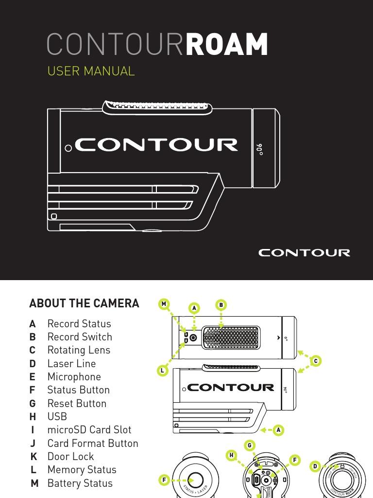 us user manual contour roam secure digital electromagnetic rh scribd com contour hd camera manual pdf contour gps camera manual