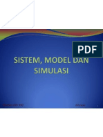 Sistem, Model Dan Simulasi