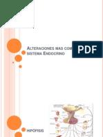 Alteraciones Mas Comunes Del Sistema Endocrino