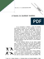 ignacio rangel - a história da dualidade brasileira - rep1981