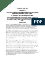 Decreto Reg. 4124 de 2004 SNA