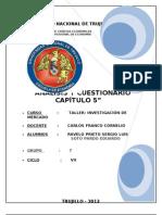 TRABAJO INVESTIGACION  CAP5