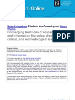 converging traditions of research on media and information literacies lsero