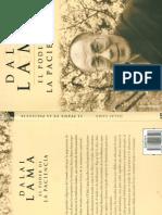Dalai Lama - El Poder de La Paciencia
