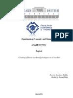 Market Project f