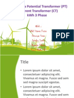 Prinsip Kerja Potential Transformer (PT) &