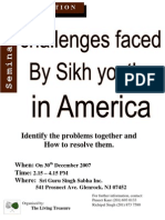 challenges to sikh youth