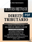 (Livro) - Questões Objetivas De Direito Tributário