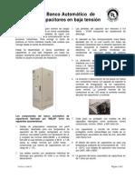 Banco Automático de Capacitores en baja tensión