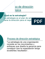 Procesodedireccionestrategia