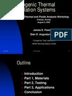 Cryogenic Insulation Technology