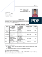 resume format for pharmacist freshers   inventory count sheet Samples Resumes For Freshers Resume Sample For Freshers Pdf Fresher Resume  Format Free Download Mba B