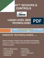 Gems Sensors Level Sensing