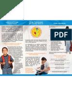 Transitional Kindergarten Brochure (Spanish)