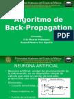 Algoritmo de Back-Propagation