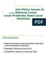 Competition Policy Issues4