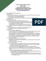 FOW Meeting Minutes - May 2012