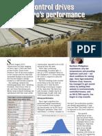 Climate Control Drives Venvi Agro Performance
