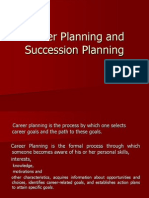 Career Planning and Succession Planning
