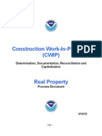 !!!Process Document for CWIP - Real Property - NOAA