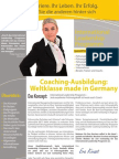 International Leadership Programm Broschüre