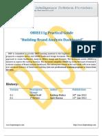 OBIEE11g Building Brand Analysis Dashboard