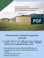 Asistenta Social in Penitenciar Cursul Nr 7 Programe 2012