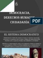 TEMA 8 DEMOCRACIA, CIUDADANÍA Y DDHH