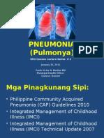 Pneumonia (Pulmonya)