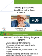 Wilbrink Nynke, CSO, Nederlands Presentation of Best Practice for  Active Aging - 6th Patients Rights Day