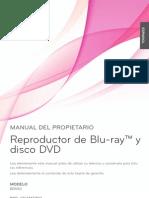 Manual Bluray LG Bd550