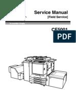 KONICA MINOLTA C500 CF5001 Service Manual (Field Service)