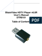 BlazeVideo HDTV Player v6.0R User's Manual DTR8101