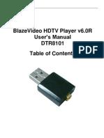 BlazeVideo HDTV Player v6.0R User's Manual DTR8101
