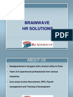 Brainwave HR Solutions -PPT