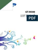 Samsung Galaxy S III GT-I9300 Manual