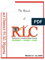2009 RLC Report