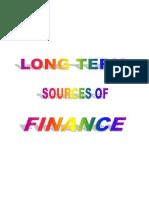 Unit 10 LT Finance