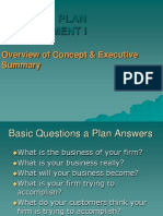 Week 5 Entrepreneurship Business Plan I (Concept)