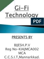 Gi Fi Technology