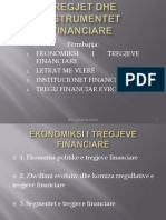 TREGJET  FINANCIARE
