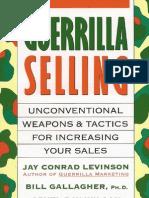 Guerrilla Selling E-Book