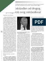 Narod oslobođen od drugog postaje rob svog oslobodioca - prof. dr. Ferid Muhić (Preporodov journal br. 134)