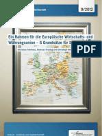 Ein Rahmen für die Europäische Wirtschafts- und Währungsunion – 6 Grundsätze für Stabilität