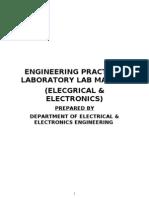 Electrical Engineering Practice-manual