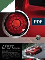 Alfa Romeo UK Price List 2010