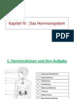 Kapitel IV hormonsystem