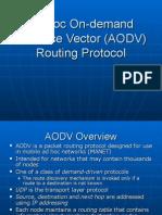 2006 AODV Group Presentation