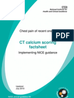 CT Calcium Scoring