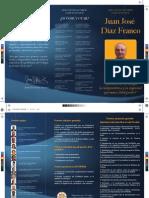 Tríptico de la Candidatura del Dr. Diaz Franco